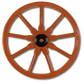 Click for larger picture of WAGON WHEEL 23IN. PARTY SUPPLIES