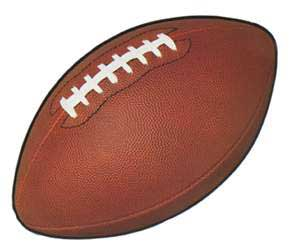 click for larger picture of football cutouts party supplies - Football Decorations
