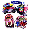 FABULOUS 50'S CUTOUT (EACH) PARTY SUPPLIES