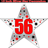 56TH SILVER STAR DECORATION PARTY SUPPLIES
