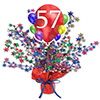 57TH BALLOON BLAST CENTERPIECE PARTY SUPPLIES