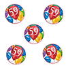59TH BIRTHDAY BALLOON BLAST DECO FETTI PARTY SUPPLIES