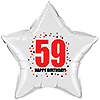 59TH BIRTHDAY STAR BALLOON PARTY SUPPLIES