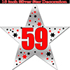 59TH SILVER STAR DECORATION PARTY SUPPLIES