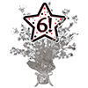 6! SILVER STAR CENTERPIECE PARTY SUPPLIES