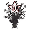 60! BLACK STAR CENTERPIECE PARTY SUPPLIES