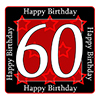 60TH BIRTHDAY COASTER PARTY SUPPLIES