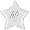 60 YEARS CLASSY DIAMOND STAR BALLOON PARTY SUPPLIES