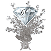 60TH DIAMOND ANNIVERSARY CENTERPIECE PARTY SUPPLIES