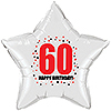 60TH BIRTHDAY STAR BALLOON PARTY SUPPLIES