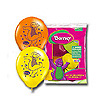 BARNEY LATEX BALLOONS (6CT) PARTY SUPPLIES