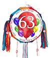 63RD BIRTHDAY BALLOON BLAST PINATA PARTY SUPPLIES