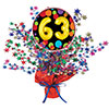 63RD BIRTHDAY BALLOON CENTERPIECE PARTY SUPPLIES