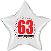 63RD BIRTHDAY STAR BALLOON PARTY SUPPLIES