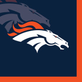 DENVER BRONCOS BEVERAGE NAPKIN PARTY SUPPLIES