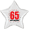 65TH BIRTHDAY STAR BALLOON PARTY SUPPLIES