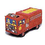 Click for larger picture of PINATA-FIRE ENGINE PARTY SUPPLIES