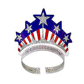 Click for larger picture of MISS LIBERTY TIARA PARTY SUPPLIES