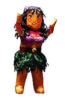 Click for larger picture of DISCONTINUED PINATA-HULA GIRL PARTY SUPPLIES