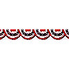 PATRIOTIC BUNTING BORDER ROLL PARTY SUPPLIES