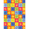 DISCO BOOGIE SQUARES ROOM ROLL PARTY SUPPLIES