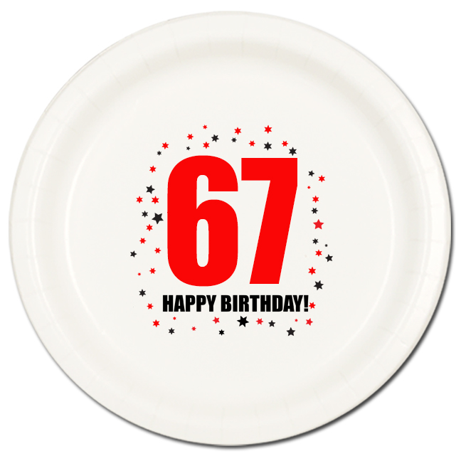 67 Happy Birthday Party Supplies