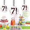 7! DANGLER PARTY SUPPLIES