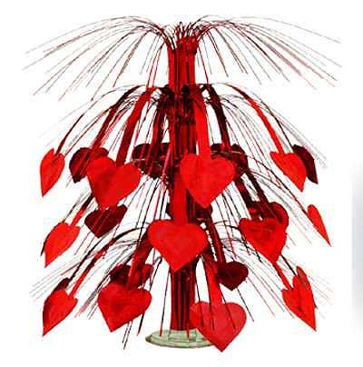 Click for larger picture of HEART CASCADE CENTERPIECE 18IN. (6/CASE) PARTY SUPPLIES