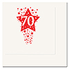 70TH - TIME TO CELEBRATE BEVERAGE NAPKIN PARTY SUPPLIES
