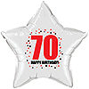 70TH BIRTHDAY STAR BALLOON PARTY SUPPLIES