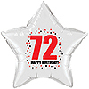 72ND BIRTHDAY STAR BALLOON PARTY SUPPLIES
