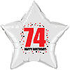 74TH BIRTHDAY STAR BALLOON PARTY SUPPLIES