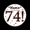 74! CUSTOMIZED BUTTON PARTY SUPPLIES