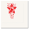 75TH - TIME TO CELEBRATE BEVERAGE NAPKIN PARTY SUPPLIES
