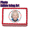 77TH BIRTHDAY PHOTO EDIBLE ICING ART PARTY SUPPLIES