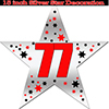 77TH SILVER STAR DECORATION PARTY SUPPLIES