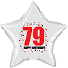 79TH BIRTHDAY STAR BALLOON PARTY SUPPLIES
