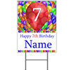 7TH CUSTOMIZED BALLOON BLAST YARD SIGN PARTY SUPPLIES