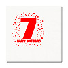 7TH BIRTHDAY LUNCHEON NAPKIN 16-PKG PARTY SUPPLIES
