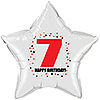 7TH BIRTHDAY STAR BALLOON PARTY SUPPLIES