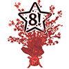 8! RED STAR CENTERPIECE PARTY SUPPLIES
