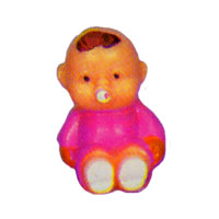 Click for larger picture of PINK BABY BOY - 1 INCH PARTY SUPPLIES