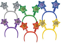 HAPPY NEW YEAR BOPPERS PARTY SUPPLIES
