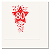 80TH - TIME TO CELEBRATE BEVERAGE NAPKIN PARTY SUPPLIES