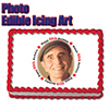 80TH BIRTHDAY PHOTO EDIBLE ICING ART PARTY SUPPLIES