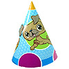 DISCONTINUED LITTLEST PET SHOP CONE HATS PARTY SUPPLIES