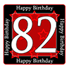 82ND BIRTHDAY COASTER PARTY SUPPLIES