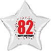 82ND BIRTHDAY STAR BALLOON PARTY SUPPLIES