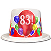 83RD BIRTHDAY BALLOON BLAST TOP HAT PARTY SUPPLIES