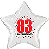 83RD BIRTHDAY STAR BALLOON PARTY SUPPLIES